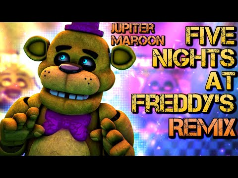 SFM| A Familiar Face | Five Nights At Freddy's Remix By Jupiter Maroon