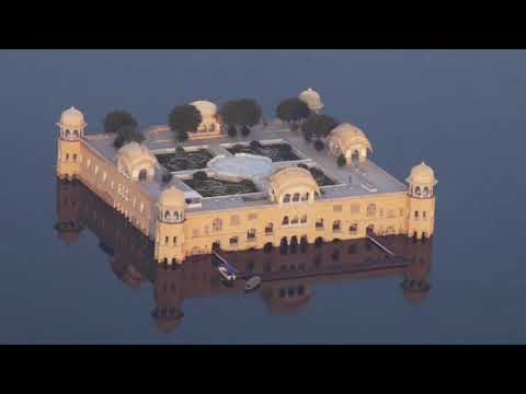 Beautiful Jal Mahal In Jaipur, Rajasthan