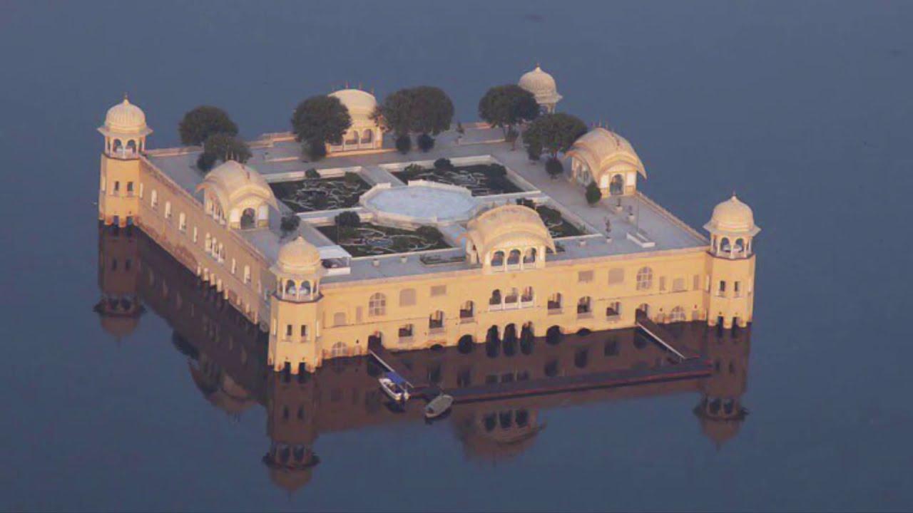 Beautiful Jal Mahal in Jaipur, Rajasthan - YouTube
