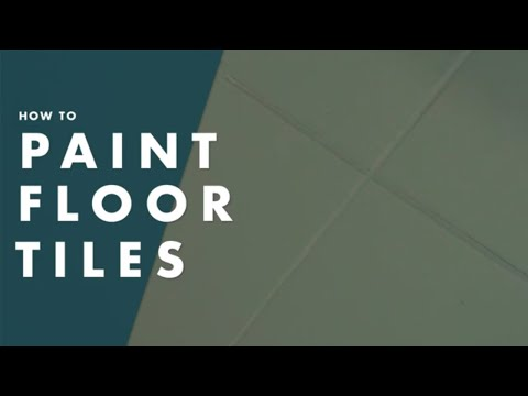 How To Paint Floor Tiles