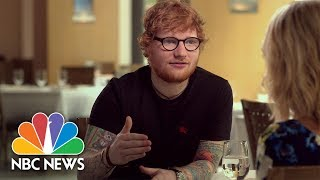 Ed Sheeran & 39 I Am Insecure& 39 Full Megyn Kelly NBC News