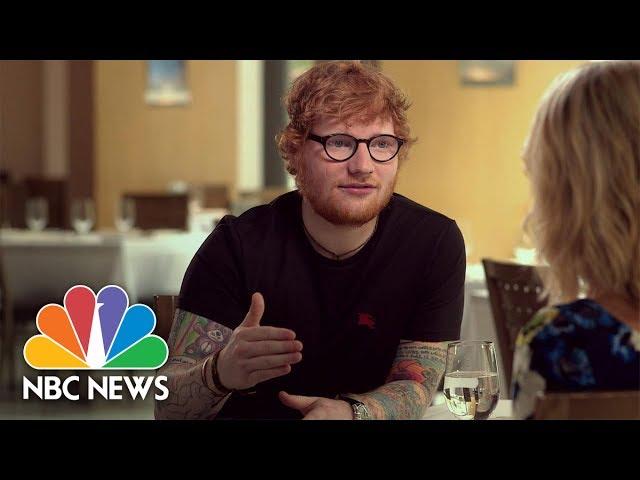 Ed Sheeran: 'I Am Insecure' (Full)   Megyn Kelly   NBC News