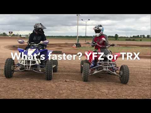 Yamaha YFZ 450r vs. Honda TRX 450r