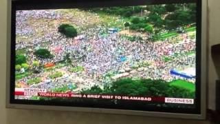 Girlie Rodis on #BBCNewsDay Million People March