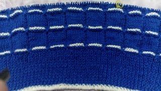 Узор с перекрестом вытянутых петель спицами. Вязание детской кофты /Красивый узор спицами. Урок 4.