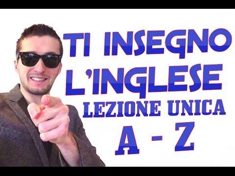 PRONUNCIA INGLESE DALLA A ALLA Z - LEZIONE UNICA - MIGLIOR CORSO D'INGLESE ONLINE
