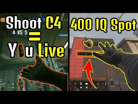 """"""" IF You Shoot My C4 MID AIR You Live """" 