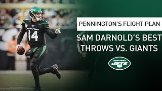 Pennington's Flight Plan: 'This Is Why We Get Excited About Sam Darnold' | New York Jets | NFL