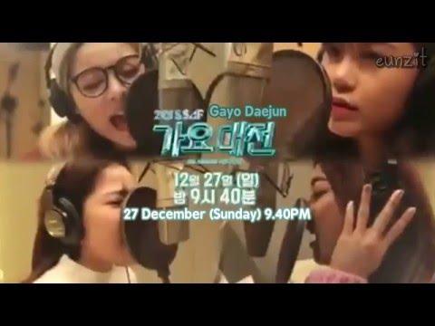 [ENG] 151225 SBS Gayo Daejun Luna & Jung Eunji & Ailee & Solar