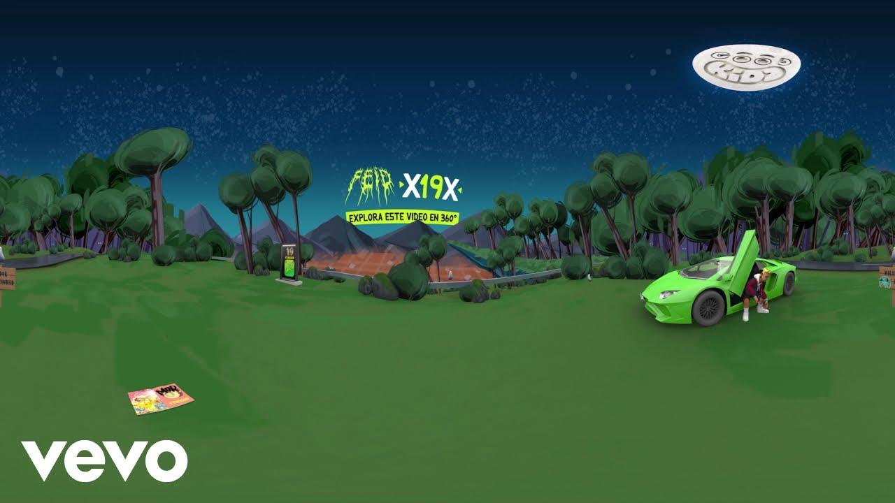 Feid - X19X (Official 360 Video)