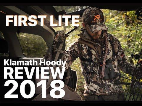 2018 First Lite Klamath Hoody Review