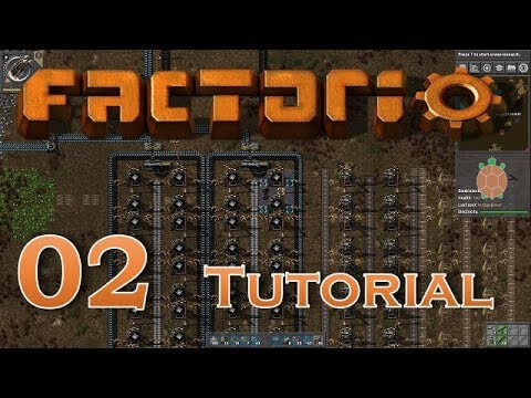 Factorio (0.15) | Let's Play Beginners Guide - 02 - Smelting & Blueprints