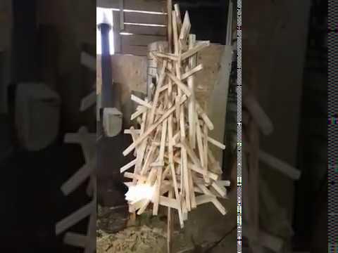 Дачный торфяной туалет Ecomatic L&T (Финляндия) - YouTube