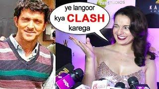 Kangana Ranaut Makes FUN Of Hrithik Roshan's Super 30 CLASH With Manikarnika Jhansi Ki Rani
