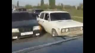 Кортеж Чеченской Свадьбы  Ну, Жееесть!