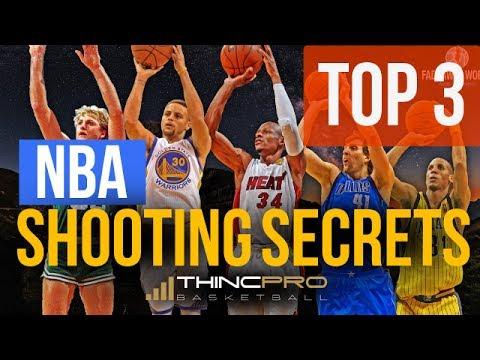 How to: TOP 3 NBA Shooting SECRETS to Improve Your Shot! (NBA Basketball Shooting Tips)