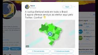 O Tribunal Superior Eleitoral lança atendimento virtual pelo Twitter. Basta acessar @tsejusbr e verificar serviços e orientações eleitorais como imprimir a ...