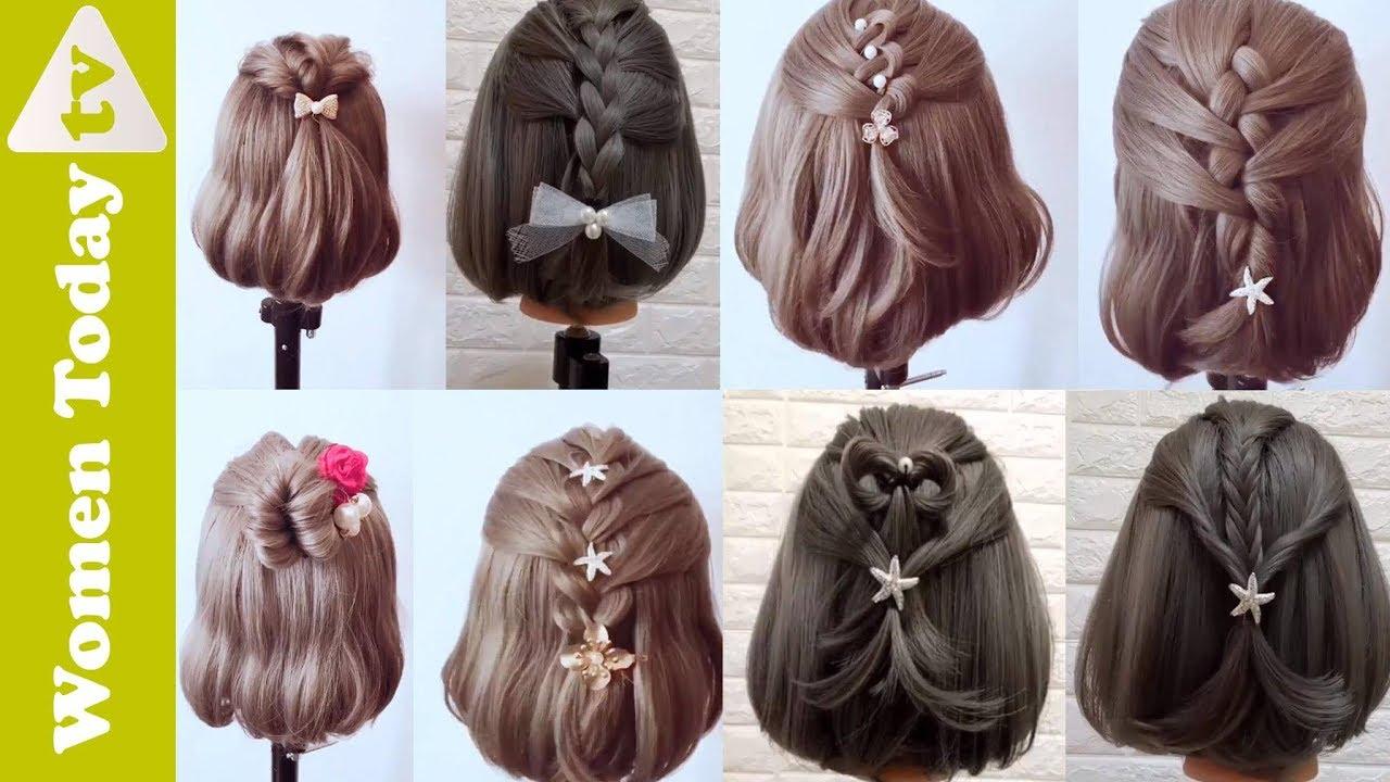 🌺 Những Kiểu Tết Tóc Đẹp Dành Riêng Cho Nàng Tóc Ngắn | Hairstyles for Short Hair