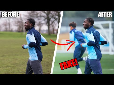 I Faked Being A Professional Footballer... Here's How I Did It!