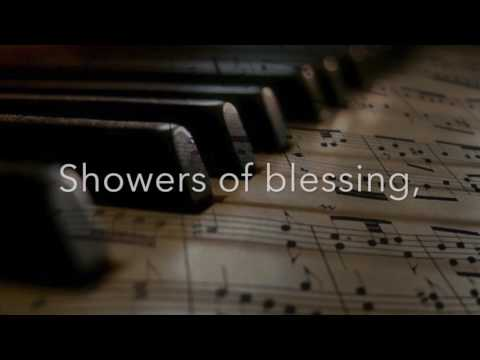 Showers of Blessing - beautiful solo piano