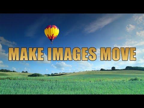How To Make Images Move - Movie Studio 16 Platinum