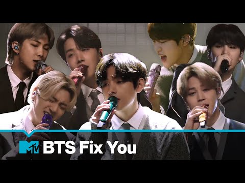 BTS Performs 'Fix You' (Coldplay Cover) | MTV Unplugged Presents: BTS - MTV UK