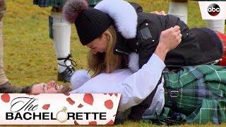 Jed Wrestles Hannah - The Bachelorette
