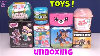 Surprise Toys Opening Power Ponies Paw Patrol Puppy in My Pocket 8 Roblox Mystery Num Noms 5 Squishy
