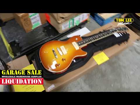 Tom Lee Music Garage Sale 2018 - Guitars