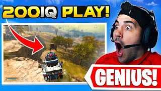 Reacting to GENIUS Warzone Plays!