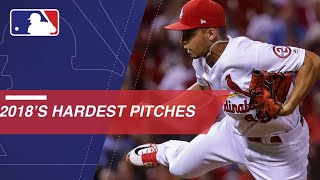 Check out the hardest pitches of the 2018 season