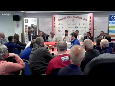 Danny Cowley unveiled as Lincoln City manager