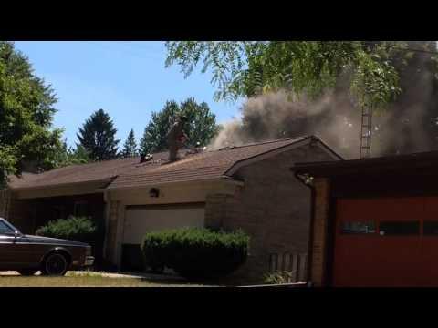 Thompson Street house fire