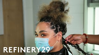I Got Two-Toned Passion Twists   Hair Me Out   Refinery29