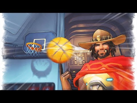 WORLDS RAREST BASKETBALL SHOT..!! | Overwatch Best and Funny Moments - Ep.212