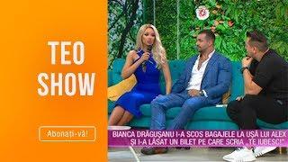 Teo Show 21.06.2019   Bianca Dragusanu Si Alex Bodi Vacanta De Lux In Singapore
