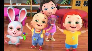 A A Apple | First Day of School  | Time for Kindergarten | Best nursery rhymes - Jugnu kids