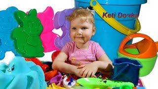Наши покупочки! Игрушки для песочницы, наборы и формочки ,мозайка кукла на качели !!!,