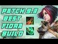 NEW 9.3 Best Fiora Builds | RIP Essence Reaver | League of Legends