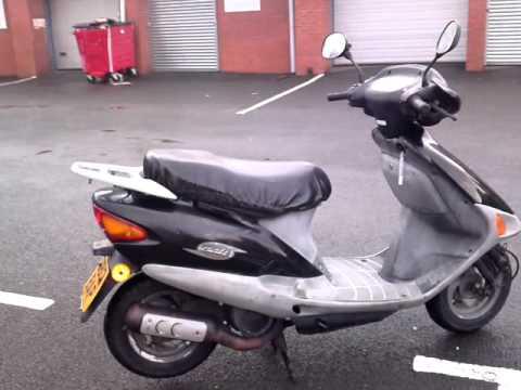 1998 honda sj 50 bali moped scooter great bike new mot. Black Bedroom Furniture Sets. Home Design Ideas