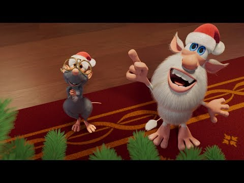 Буба - Серия #36 - С Новым годом и Рождеством! ???? - Весёлые мультики для детей - Буба МультТВ