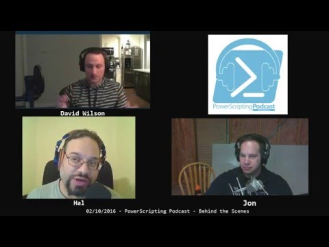 PowerScripting Podcast - Episode 311 - David Wilson from Microsoft