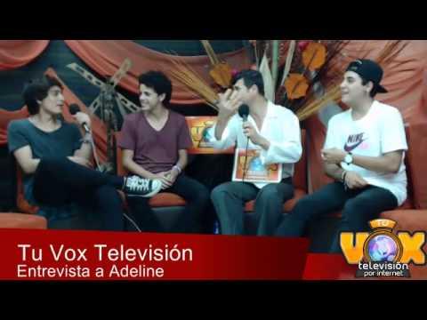 Adeline en entrevista exclusiva para Tu Vox Televisión