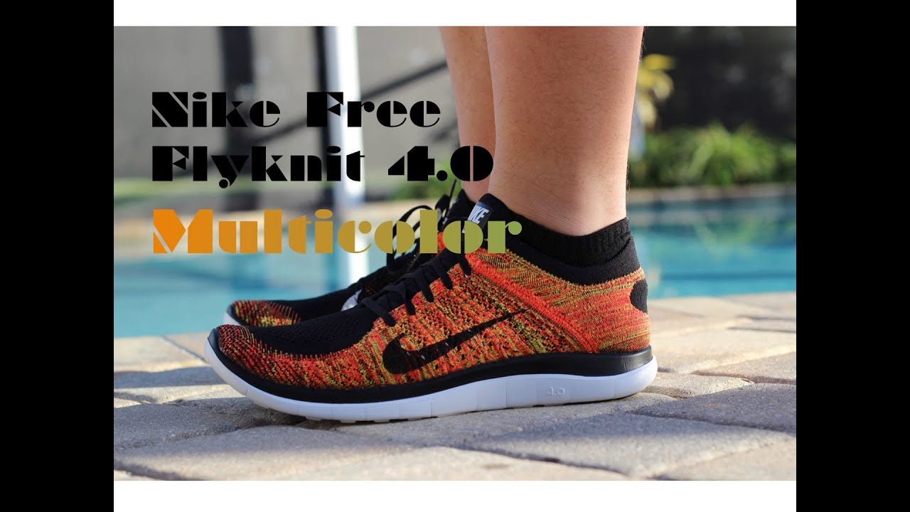 Free 4.0 Flyknit Multicolor