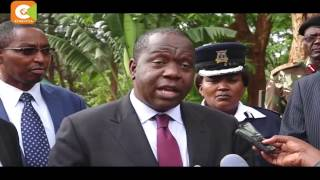 CS Matiang'i vows not to relent in fighting exam cheating