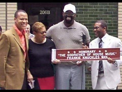 Frankie Knuckles street dedication 25 August 2004