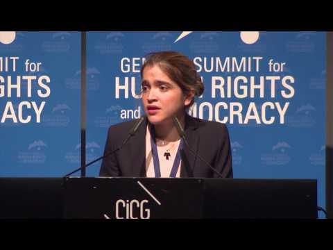 Antonietta Ledezma Geneva Summit 2017