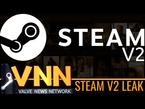 Everything Known About the Steam Redesign - SteamV2 News