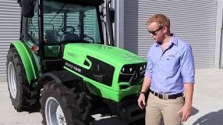 Deutz-Fahr 4 Series Tractor Walkround