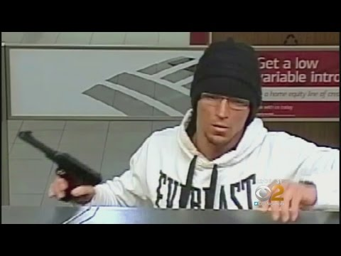 [Business] Caught On Camera: NJ Bank Robbery Suspect